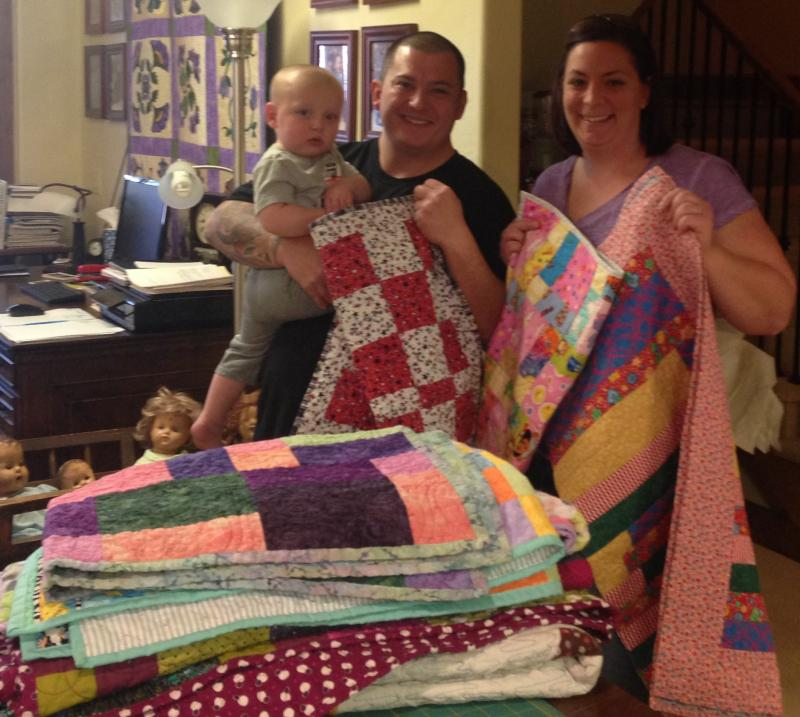 Montana Guest Retreat Gets A Fabulous Makeover For The: Charity Quilts If Your